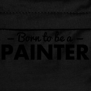 born to be a painter - Kids' Backpack