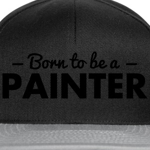 born to be a painter - Snapback Cap