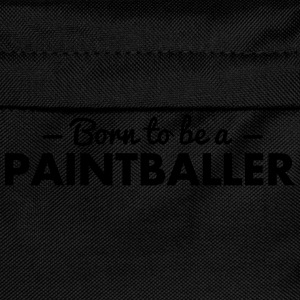 born to be a paintballer - Kids' Backpack