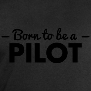born to be a pilot - Men's Sweatshirt by Stanley & Stella