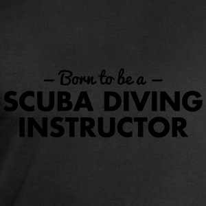 born to be a scuba diving instructor - Männer Sweatshirt von Stanley & Stella