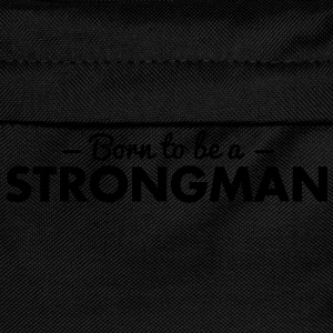 born to be a strongman - Kids' Backpack