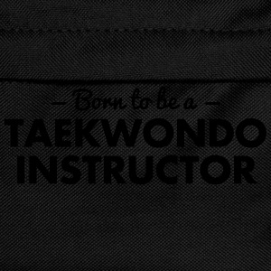 born to be a taekwondo instructor - Kids' Backpack