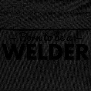 born to be a welder - Kids' Backpack