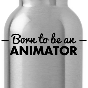 born to be an animator - Water Bottle