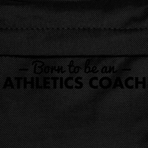 born to be an athletics coach - Kids' Backpack