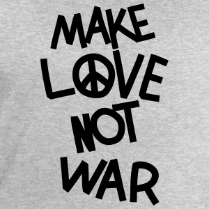 Make love not war T-Shirts - Männer Sweatshirt von Stanley & Stella