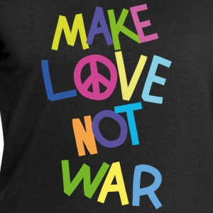 Make love not war (Bunt) T-Shirts - Männer Sweatshirt von Stanley & Stella