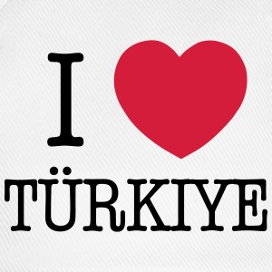 I LOVE TURKEY - I LOVE TÜRKIYE Long Sleeve Shirts - Baseball Cap