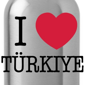 I LOVE TURKEY - I LOVE TÜRKIYE Shirts met lange mouwen - Drinkfles