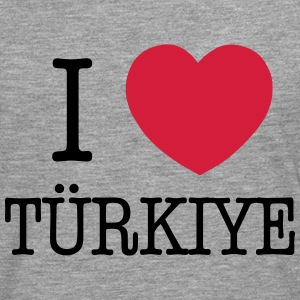I LOVE TURKEY - I LOVE TÜRKIYE Sweat-shirts - T-shirt manches longues Premium Homme