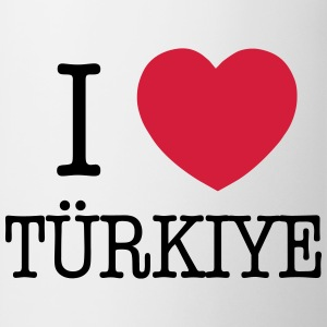 I LOVE TURKEY - I LOVE TÜRKIYE Sports wear - Mug