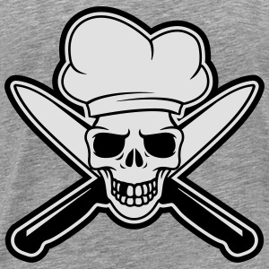 Skull chef Sports wear - Men's Premium T-Shirt