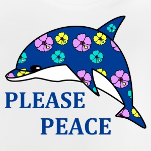 please peace Sweaters - Baby T-shirt