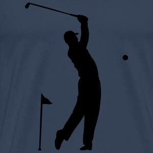 Golf - Hole in One idrottsman Scene Toppar - Premium-T-shirt herr