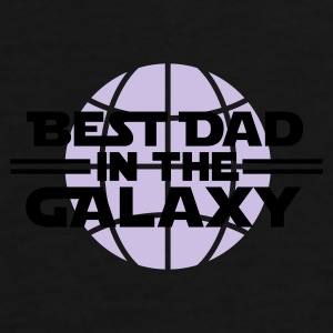 Best dad in the galaxy Caps & luer - Premium T-skjorte for menn