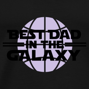 Best dad in the galaxy Kopper & tilbehør - Premium T-skjorte for menn