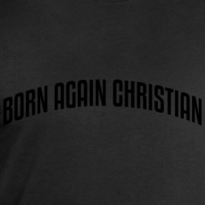 born again christian stylish arched text - Men's Sweatshirt by Stanley & Stella