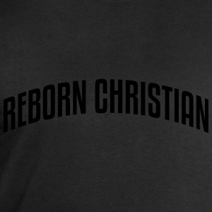 reborn christian stylish arched text log - Men's Sweatshirt by Stanley & Stella
