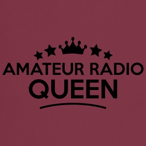 amateur radio queen stars - Cooking Apron