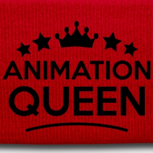 animation queen stars - Wintermütze