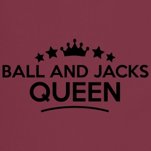 ball and jacks queen stars - Kochschürze
