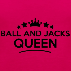 ball and jacks queen stars - Frauen Premium Tank Top