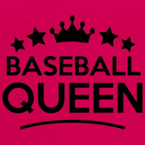 baseball queen stars - Frauen Premium Tank Top