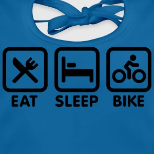 Eat sleep bike Skjorter - Baby biosmekke
