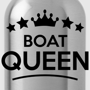 boat queen stars - Water Bottle