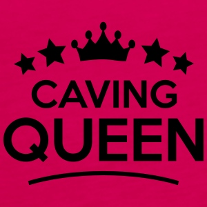 caving  queen stars - Frauen Premium Tank Top