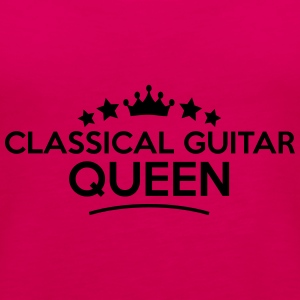 classical guitar queen stars - Frauen Premium Tank Top