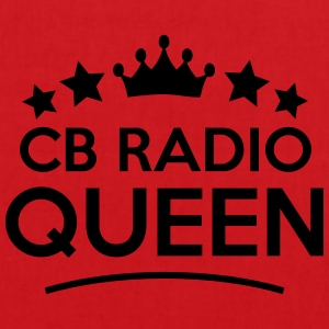 cb radio queen stars - Tote Bag