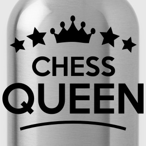chess queen stars - Water Bottle