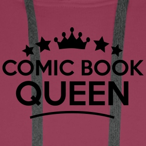 comic book queen stars - Men's Premium Hoodie