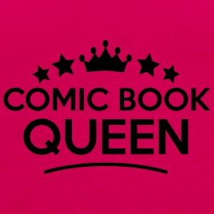 comic book queen stars - Women's Premium Tank Top