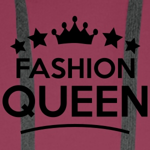 fashion queen stars - Men's Premium Hoodie
