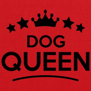 dog queen stars - Stoffbeutel