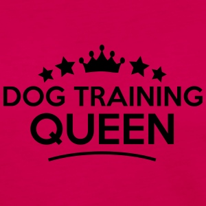 dog training queen stars - Frauen Premium Langarmshirt