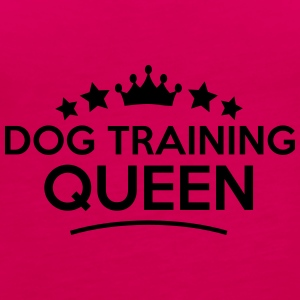 dog training queen stars - Frauen Premium Tank Top