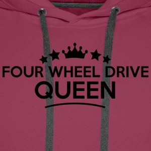four wheel drive queen stars - Men's Premium Hoodie