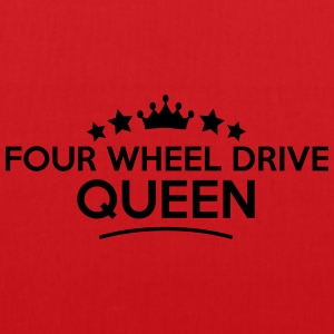 four wheel drive queen stars - Tote Bag