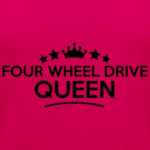 four wheel drive queen stars - Women's Premium Tank Top