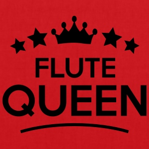 flute queen stars - Tote Bag