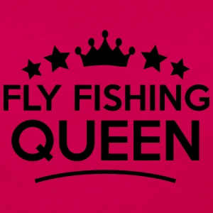 fly fishing queen stars - Women's Premium Longsleeve Shirt