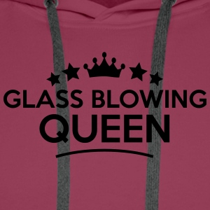 glass blowing queen stars - Men's Premium Hoodie