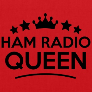 ham radio queen stars - Tote Bag