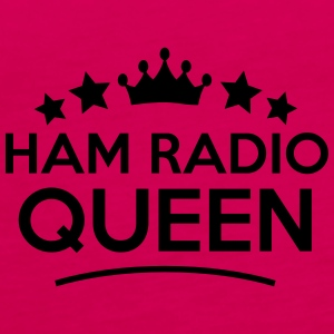 ham radio queen stars - Women's Premium Tank Top