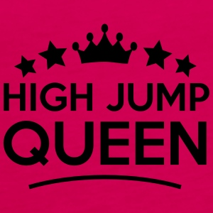 high jump  queen stars - Frauen Premium Tank Top