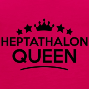 heptathalon queen stars - Frauen Premium Tank Top
